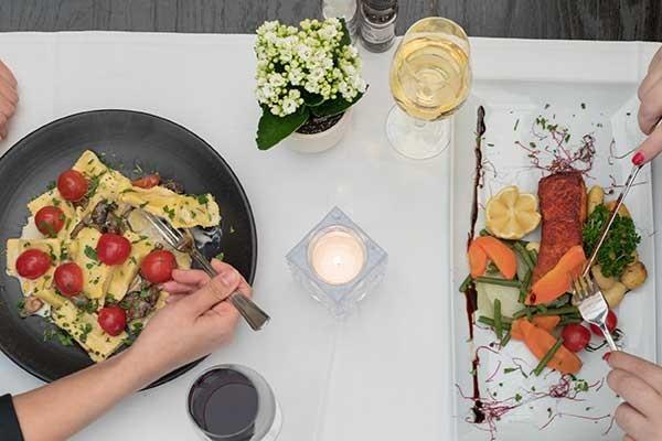 Restaurant in Holland Niederlande Italienisches Restaurant La ...